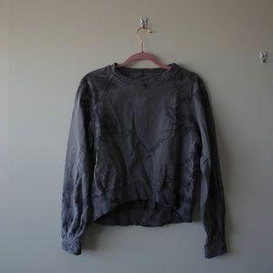 Lululemon Tye-Dye Crop Sweater